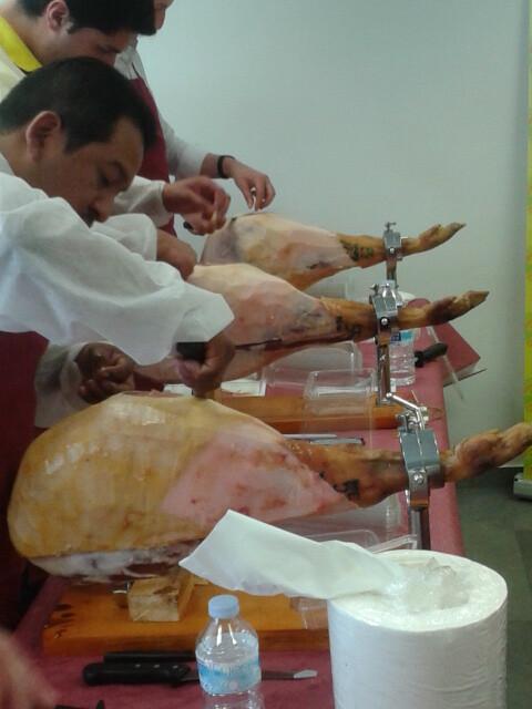 Curso de Formación. Corte de jamón 12
