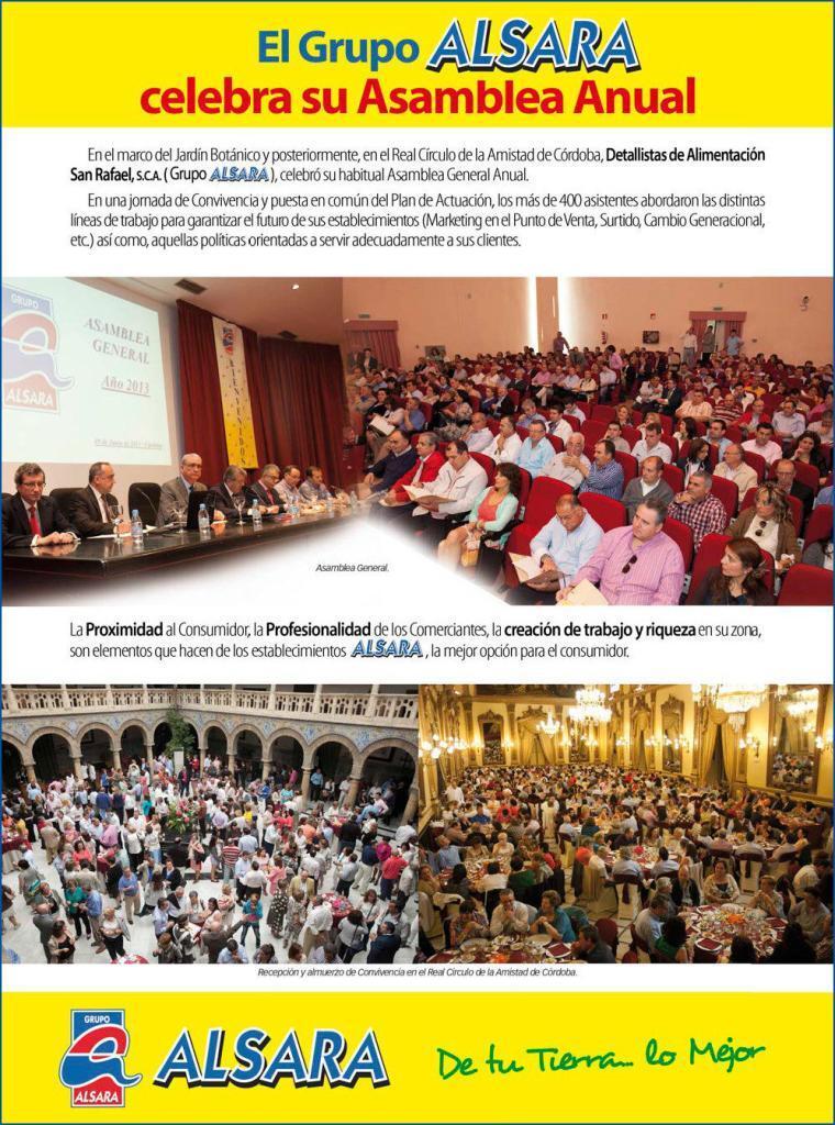 Asamblea General 2013 Grupo Alsara 1