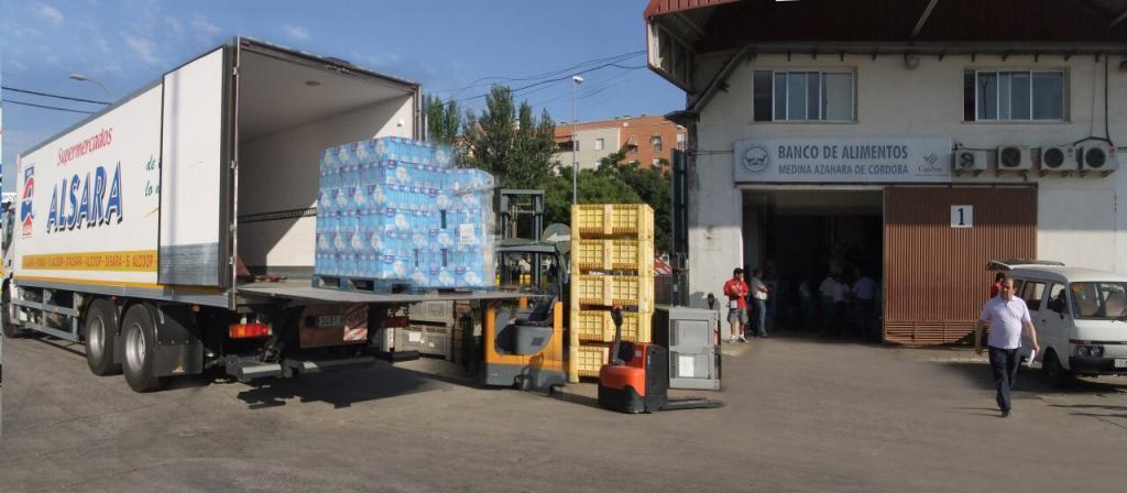 Grupo ALSARA dona más de 4 toneladas al Banco de Alimentos 1