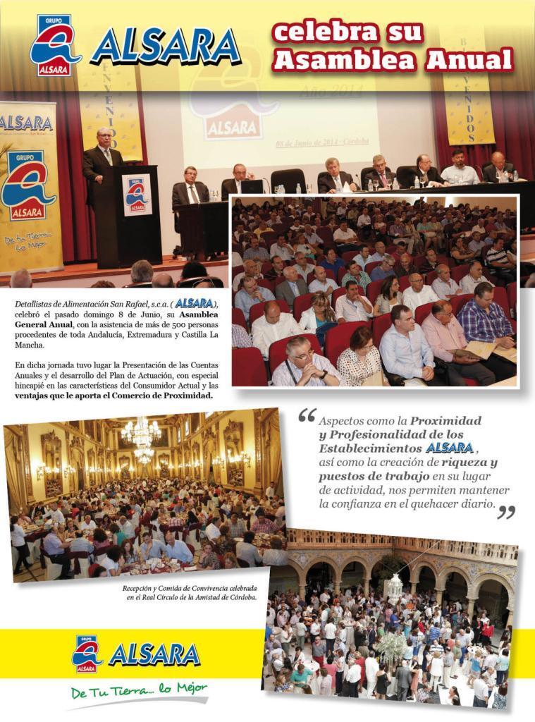 Celebración Asamblea Anual 2014 1
