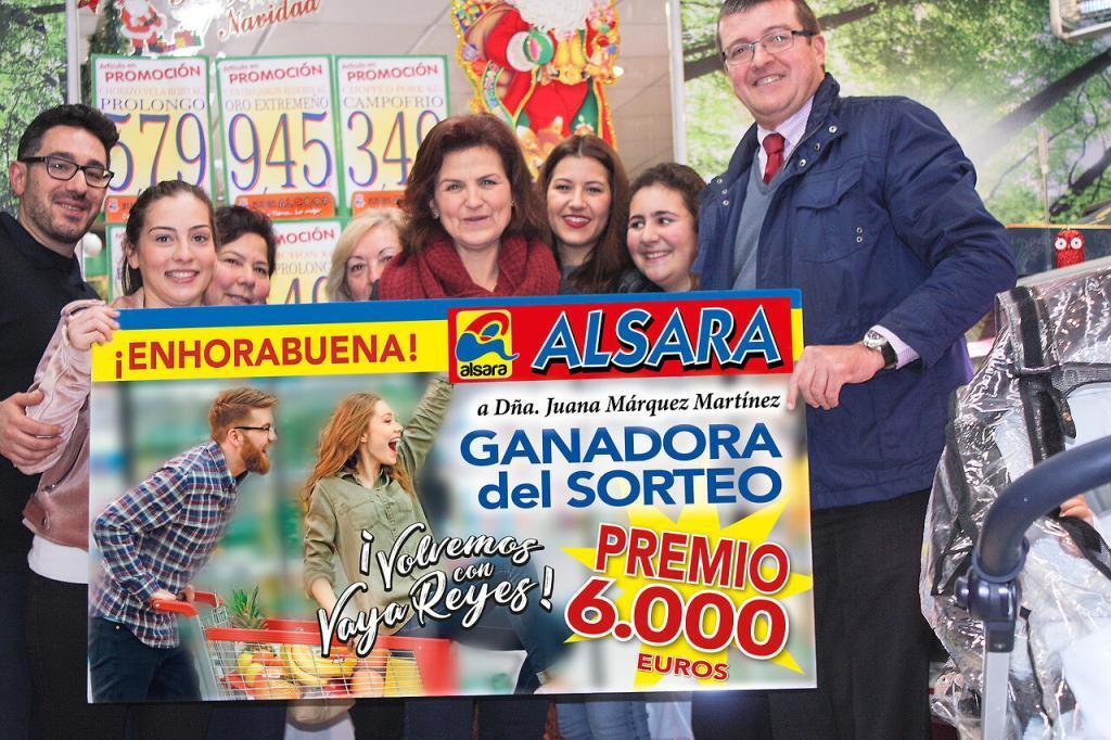 ALSARA entrega el premio de 6.000 euros de su campaña de Navidad 2