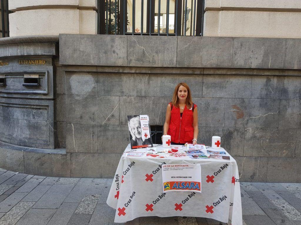 Dia de la banderita de la cruz roja