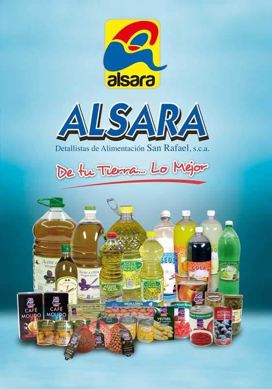 cartel productos alsara