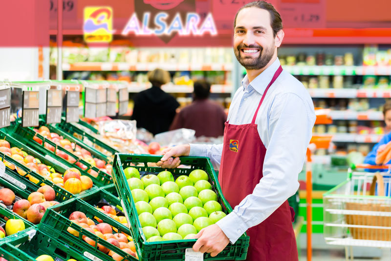 comerciante supermercado alsara
