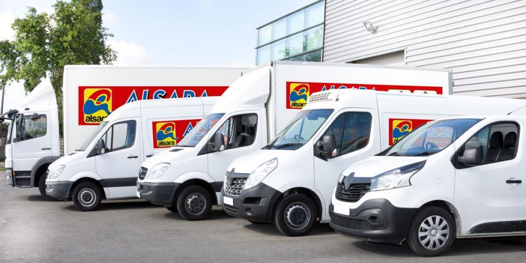 camiones logistica alsara