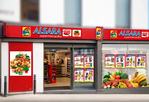 modelo supermercado alsara