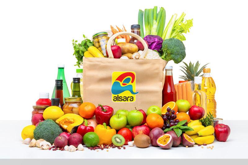 bodegon alimentos supermercados alsara